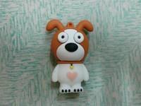 Free shipping U dog with big ears usb flash drive 4GB 8GB 16GB 32GB usb flash drive gift usb flash drive
