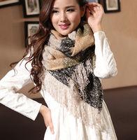 2014 Winter Warm Women Long Wool Blend  Scarf Headband Shawl Pashmina Stole Warmer 5 Colors Scarves