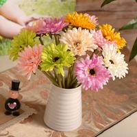 Romantic short paragraph Gerbera Gerbera artificial flowers wholesale silk flower corsage living room coffee table at home