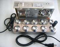 Ultrasonic mist maker fogger 10 head humidifier +transformer brand new
