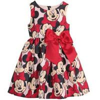 Retail. 2014 new girls printed dresses. 100% cotton print skirt, girl dress children cartoon costume summer dress