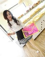 Free Shipping New Arrival Popular Envelope Bag, Women's Handbag Messenger Bag, Shoulder Bag, Tote Bag Candy Corlor ZX4701