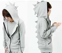 Hot ,2014 Autumn and winter cute dinosaur lovers hoodies sweatshirts men ,C40