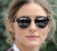Exclusion models men& women cat eye sunglasses PC+ copper fashion sunglasses multi-style