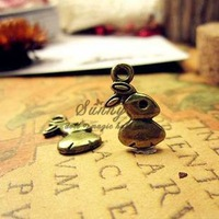 Wholesale Women Alloy Charms Fashion DIY Jewelry Rabbit Charms 50pcs/bag