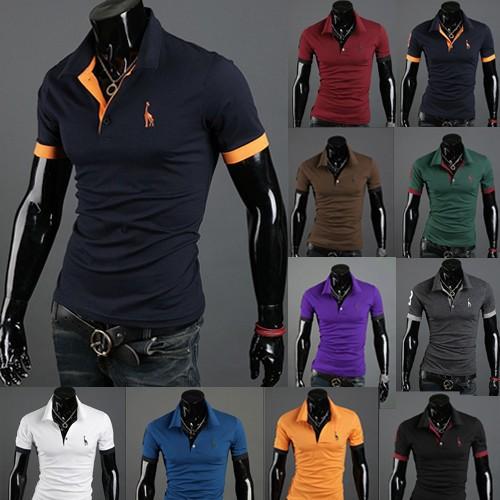 new! detonation model of short sleeve menswear fawn embroidery t-shirts M-XXXL Y057(China (Mainland))