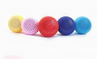 mini Bluetooth Speaker MIC Voice Box Mushroom Speakers Silicone Sucker Waterproof for iPhone iPad Samsung  ZKT