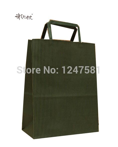 custom design cheap luxury promotional printed kraft paper gift bag for christmas(China (Mainland))