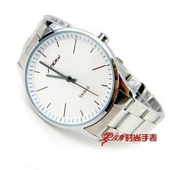 New Design 2014 New Arrival HOT SELL Lovers Wristwatch  Brand New Strap Watch free shipping Fashion Quartz Waterproof watch