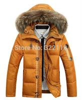 2014 New Fashion Brand Men's Duck's Down Coat Warm Thickien Winter Down Jacket Plus Size M L XL XXL XXXL