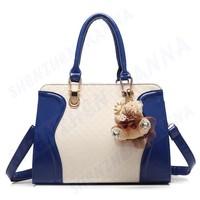 1PC FREE SHIPPING New high quality plaid fashion women handbag shoulder bag #MHB013