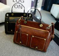 2014 new winter fashion handbag vintage motorcycle bag handbag shoulder bags women Messenger bags