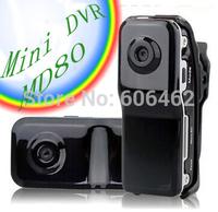 Free Shipping  MD80  ssk Mini DVR  camera player recorder 720P Video Camera