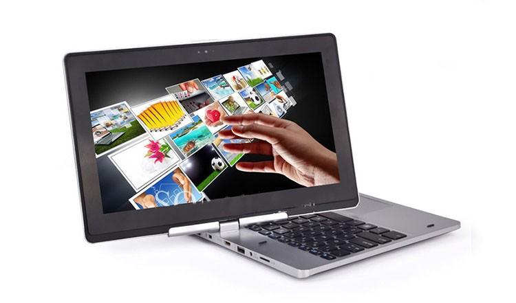 360 Rotating Touch Screen Laptop Windows 8/7 Ultrabook 11.6'',1037U 1.8G CPU+8G RAM+500G HDD+128G SSD,2MP Camera,Bluetooth WiFi(China (Mainland))