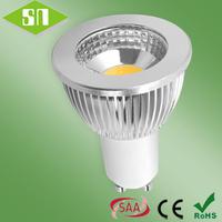 85-265V Energy Saving LED lamp GU10 COB 5W Warm White Spotlight Bulb Lamp Heighten Wick Led Spot Bulb emergency light
