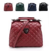 Fashion vintage genuine leather women's handbag doctors bag leather handbag messenger bag