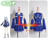 Arpeggio of Blue Steel Iona Cosplay Costume Custom Made Free Shipping