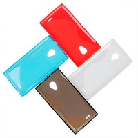 S-line Clear Silicone Protective Cover Case For DOOGEE DAGGER DG550 Suzie
