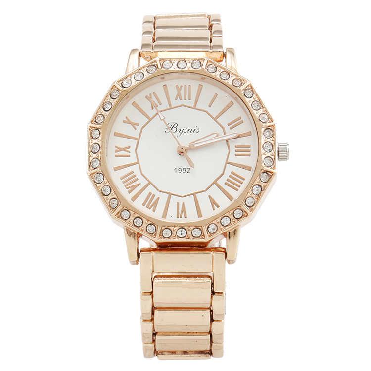 Rose Gold Watch Cheap Quartz Rose Gold Watch