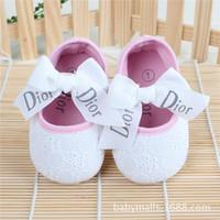 two  color  Shoes Todder pre-walker shoes infant baby girl prewalker flower soft sole shoes Baby shoes Little Spring Drop ship