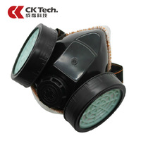Dust mask soft plastic dual valve respirator protective mask gas mask gas canister anti pollution air