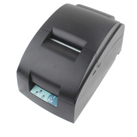 D5000 Mini Printer for tickets List style Nine-pin Bi-directional Small Ticket Printer for mall Supermarket Conected Computer