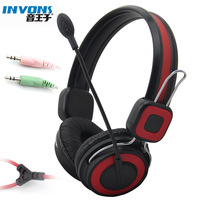 Freeship 2014 Invons ywz-a70 headset computer earphones voice headset belt microphone