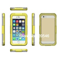 IP68 Waterproof Dustproof Shockproof Bumper Case For Apple iPhone 6 Plus 5.5&quot Case 5.5 Inch Retail Packaging Yellow