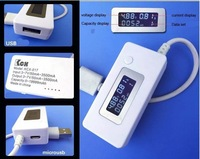 Newest LCD USB Voltage Current LED Charger Tester Voltage Current Meter Tester Monitor Power Detector