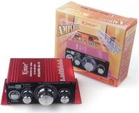 MA170 2 Channel 12V Hi-Fi Audio Stereo Amplifier For Mp3 iPod Car Boat Radio TDA7377chipset 20W