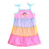 Babi Princess Dora Girl Summer Clothes Chlid Dress Girl Clothes Child Babi Girl Dress For Girl H5611D