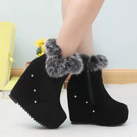 Women's winter boots, high heels wedges shoes, women's  martin boots,free shipping