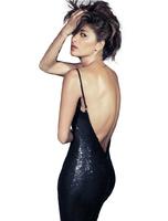 Backless spaghetti strap dress sexy night club wear open back ladies Sequins Packet hip black party dress vestido de festa