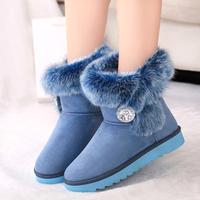 Winter boots rhinestone fashion women brand boots,free shipping