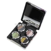 Hot Selling  8 Colors Eye Shadow Makeup Set Warm Natural Eyeshadow Palette Free Shipping 078