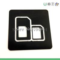 2 in 1 Nano SIM Card to Micro SIM Card Adapter Nano SIM Card to Standard Sim Card Adapter for iPhone 5,4/4S,3GS/3G