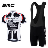 2014 BMC Team Strap Short-Sleeved Cycling Jersey/Cycling Wear/Cycling Clothing+Short Bib Suit-BMC-1B Free Shipping
