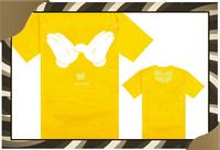 New Arrival Cheap Wu Tang Man Plus Size Logo Print 100% Cotton T-shirt Men Brand Top Designer Yellow Color Wu Tang T Shirt-050