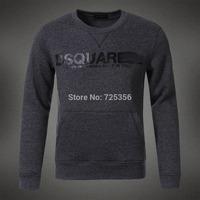Hot!2014 Winter casual fashion man hoody slim fit patchwork long-sleeved design hoodies men fleece sweatshirt plus size M-XXL