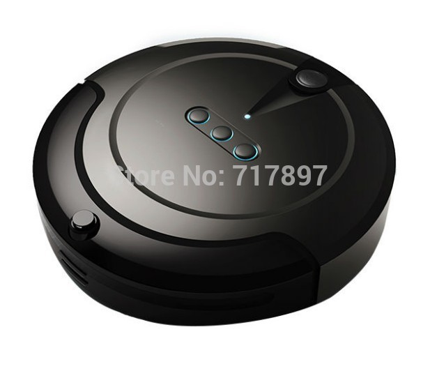 Free Shipping Mini Smart Robot Vacuum Cleaner+Virtual Wall+Self Charge+Low Noise+Remote Control Auto Cleaner(China (Mainland))