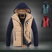 2014 Winter Jacket Men German Military Down-Jacket With Hood Mens Coat Parka Ski Jacket Anorak Cazadoras Invierno Hombre Roupas