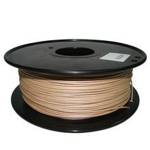 wood color 3d printer filaments Wood 1.75mm/3mm 0.8kg plastic Rubber Consumables