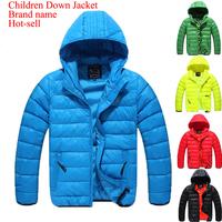 New Boy Spiderman Frozen Cloth Winter Coat White Duck Jacket  Prettyboy Celebrity Party Outwear Hot Sale
