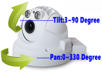 2014 new onvifi mini IP PTZ for home security 1080P HD pan tilt zoom support TF card storage (R-NA400A5 + wifi + TF)