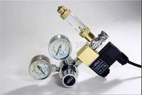 Aquarium DC01-01 DC Double gauge with bubble counter+check value+pressure release value+solenoid block