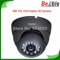 Video Surveillance Security Camera 700 TVL SONY CCD Indoor IR Camera 23 pcs IR LEDs Vandalproof Camera D-WDR/2D-DNR CCTV Camera