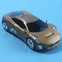 Detection Voice Safety Alert GPS 360 Protection GPS Laser Detector Car Speed Radar Gold / Red / Grey