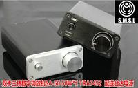 freeshipping SA-50 SMSL TDA7492 Class-T HIFI Digital Audio Amplifier 50W x 2 + Power Adapter