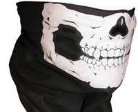 2014 New Novelty Sport Skull Scarves/Fashion Cool Skull Wicking Seamless Washouts Scarf/Outdoor Ride Bandanas