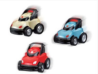 Car toy inertia car rotating toy car infant children toys red blue silver three color